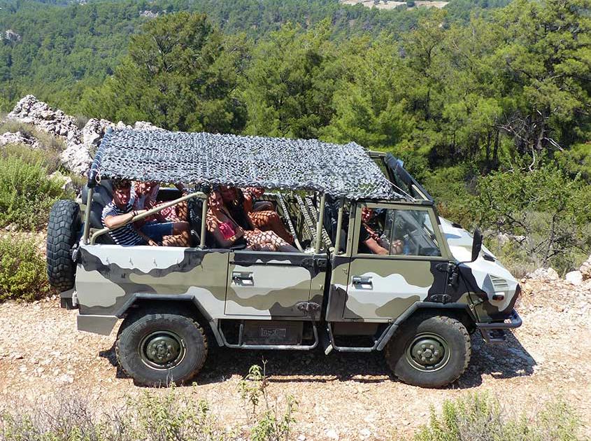 de vetste safari 4x4