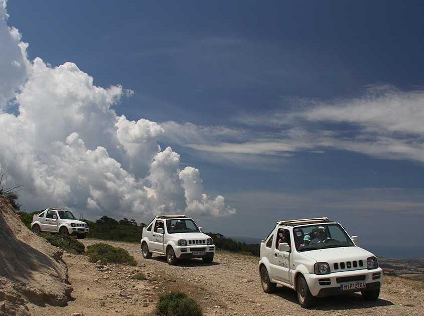 jeep safari zelf rjden